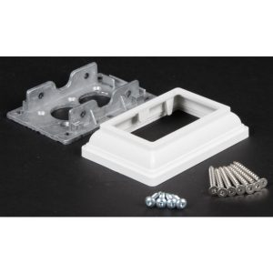 LMT 2x3.5 Aluminum Straight Rail Bracket