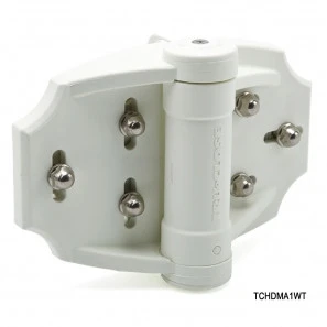 White TruClose Heavy Duty Multi Adjust Hinge - D&D Technologies