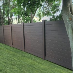Horizontal Dark Walnut
