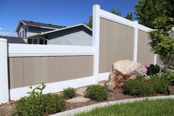 24 Stepped Down Fence Privacy